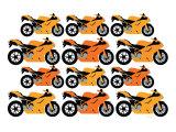Orange Ducati