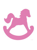 Pink Rocking Horse