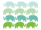 Green Elephant Family