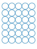 Blue Circles