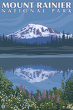 Mount Rainier  Reflection Lake