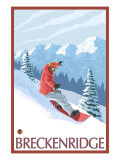 Breckenridge  Colorado  Snowboarder Scene