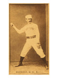 Boston  MA  Boston Beaneaters  Black Jack Burdock  Baseball Card  no3