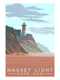 Cape Cod  Massachusetts  Nauset Lighthouse