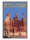 Bryce National Park  Utah  Summer Scene