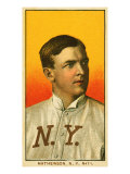 New York City  NY  New York Giants  Christy Mathewson  Baseball Card