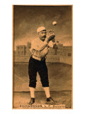 Detroit  MI  Detroit Wolverines  Hardy Richardson  Baseball Card