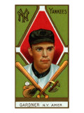 New York City  NY  New York Yankees  Earl Gardner  Baseball Card