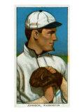 Washington DC  Washington Nationals  Walter Johnson  Baseball Card