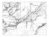 Canada  Detailed Map of Eastern Canada  New Brunswick  and Nova Scotia