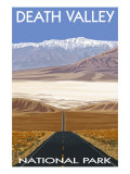 Death Valley National Park  California  Highway Scene