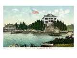 Narragansett  Rhode Island  Bay View of the Squantum Club