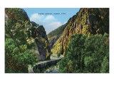 Ogden  Utah  View of Ogden Canyon