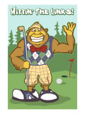 Bigfoot Golfer