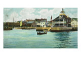 Newport  Rhode Island  View of the New York Yacht Club Station