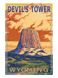 Wyoming  View of Devil's Tower