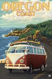 Oregon Coast  Cruising the Coast  VW Bug Van