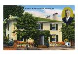 Staunton  Virginia  Exterior View of Woodrow Wilson's Birthplace