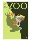 Visit the Zoo  Tree Frog Scene