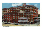 Binghamton  New York  Exterior View of the Arlington Hotel