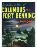 Georgia  Large Letters  Columbus and Fort Benning