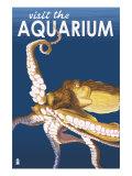 Visit the Aquarium  Octopus Scene