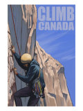 Canada  Rock Climber