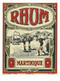 Rhum Martinique Brand Rum Label