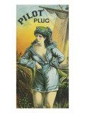 Pilot Plug Brand Tobacco Label