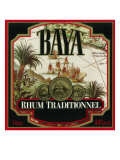 Rhum Traditionnel Baya Brand Rum Label