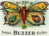 Buzzer Brand Cigar Inner Box Label