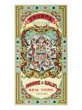 New York  Trumps Superior Brand Tobacco Label