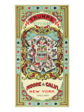 New York  Trumps Superior Brand Tobacco Label