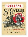 Rhum Ste Lydie Brand Rum Label