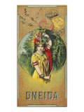 Oneida Brand Tobacco Label
