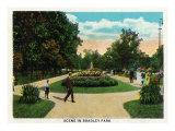 Peoria  Illinois  Scenic View in Bradley Park
