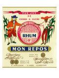 Rhum mon Repos Brand Rum Label
