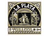 La Plata Brand Tobacco Label