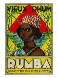 Vieux Rhum Rumba Brand Rum Label