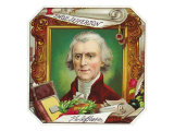 Thomas Jefferson Brand Cigar Outer Box Label