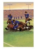 Dogpile Football Scene
