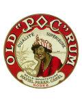 Old Poc Rum Qualite Superieure Brand Rum Label