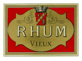 Rhum Vieux Rum Label