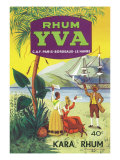 Rhum Yva Brand Rum Label