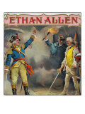 Ethan Allen Brand Cigar Box Label