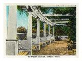 Peoria  Illinois  Bradley Park View of the Pompeian Garden