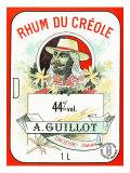 Rhum du Creole Brand Rum Label