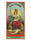 Virginia  Victory Brand Tobacco Label