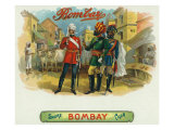 Bombay Brand Cigar Box Label