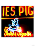 Pigale Neon  Paris